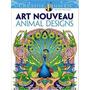 Art Nouveau Animal Designs Creative Haven Coloring Books