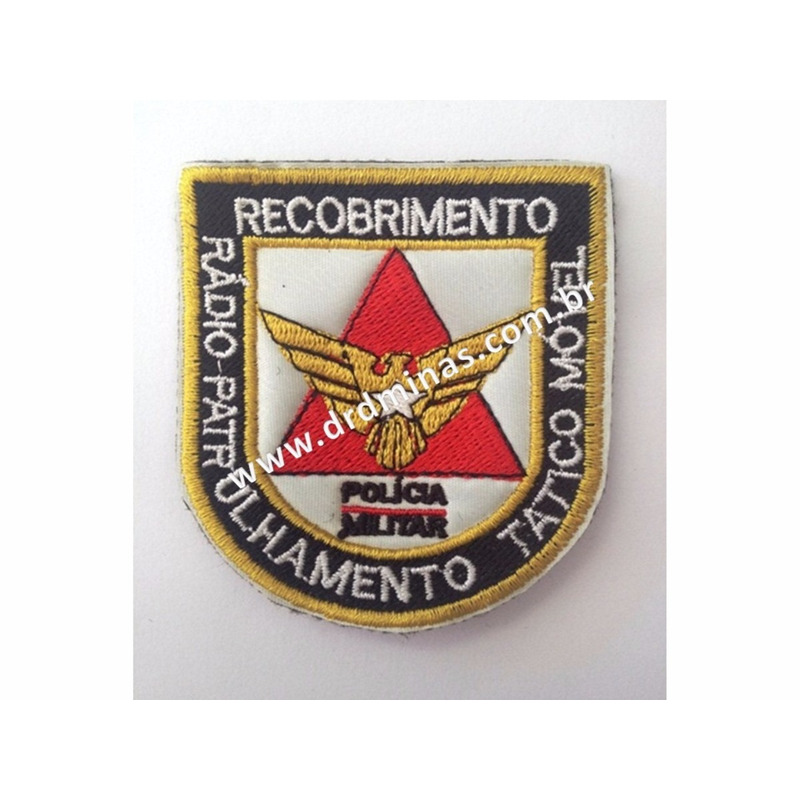 Distintivo Bordado Recobrimento Tatico Movel