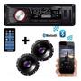 Rádio Carro Roadstar Usb Com Bluetooth Par Falante Pioneer