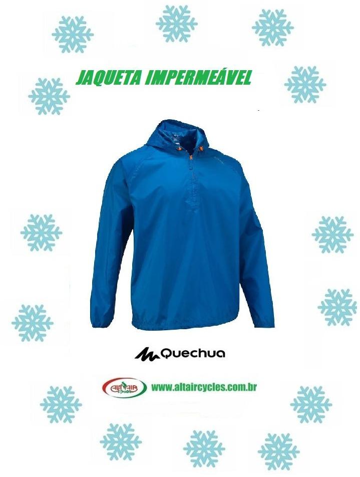 JAQUETA IMPERMEÁVEL RAIN-CUT QUECHUA
