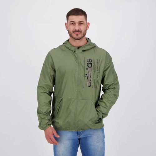 Jaqueta adidas Corta Vento M Bb Verde Original
