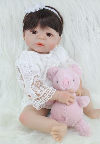 Boneca Bebe Reborn Corpo De Silicone Varios Modelos Confira! Original