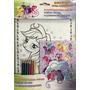 Livro My Little Pony Colorindo Com Adesivos E Lapis De Cor
