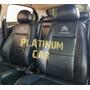 Capas Banco Carro 100% Couro Citroen C3 2010 2011 2012 2013