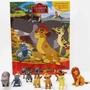 Miniaturas A Guarda Do Leão Amigos Da Selva C/ 12 Brinquedos