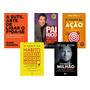 Kit 5 Livros Poder Do Hábito Pai Rico Pai Pobre Poder Ação