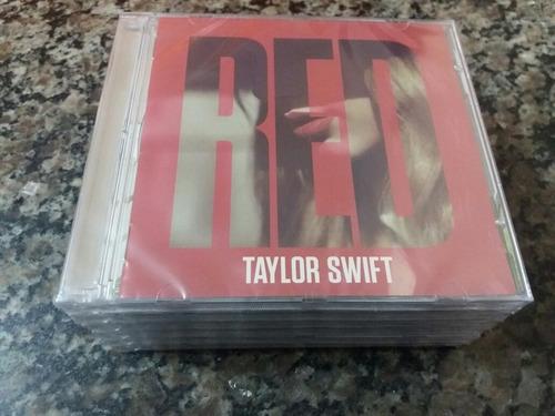 Cd Taylor Swift - Red Deluxe - Duplo -  Lacrado Original