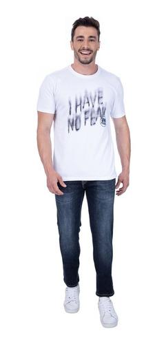 Camiseta Second Floor I Have No Fear - Branca Original