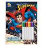 Colorir E Atividades Com Canetinha Superman