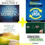 Kit Tiago Brunet 4 Livros Dinheiro É Emocional E Mais