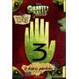 Livro O Diário Perdido De Gravity Falls 3 Capa Dura