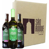Kit Vinho Bordô Suave + Seco + Branco Niagara - Don Patto