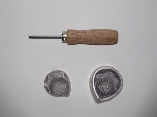 Frisador Para Eva Em Alumínio - Pétala Da Rosa Média Original