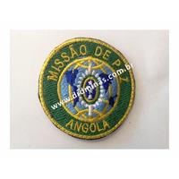 Distintivo Bordado Missão de Paz - Angola