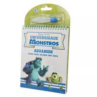 Livro para Colorir com Água Universidade Monstros Multikids - BR180