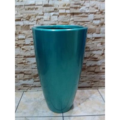Vaso de fibra grande decorativo estilo ceramica vietnamita for Vaso grande