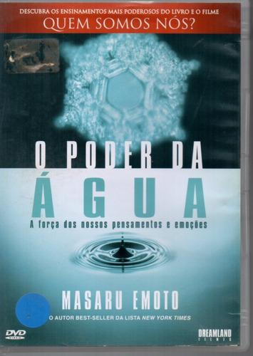 Dvd Original O Poder Da Água - Masaru Emoto