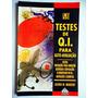Livro Testes De Q.i. Para Auto avaliação! Alfred W. Munzert