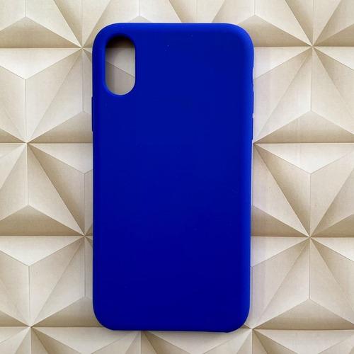 Capinha Capa Silicone iPhone 7 8 Plus X Xr Xs Max C/ Logo Original