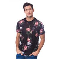 Camiseta Long Island Plus Size Skulls
