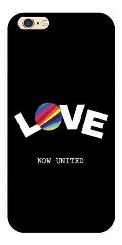 Capinha De Celular Compatível Now United Love Fundo Preto Original