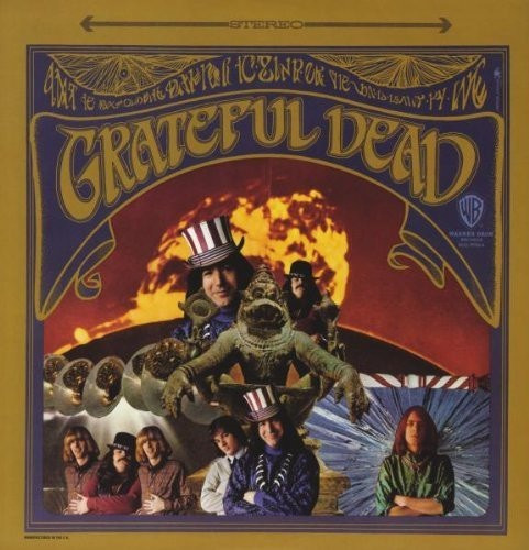 Lp Grateful Dead - 1º Disco 1967 Importado Lacrado 2017