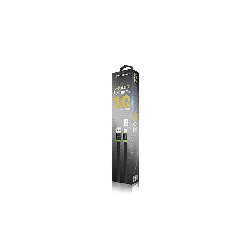 CABO USB-LIGHTNING 2,0A 1M CB-110BK C3T