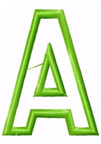 Bordado Computadorizados Bc3455 Alfabeto E Num. Em Aplique Original