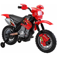 Moto Elétrica Infantil - Vermelho - 925800 - Bel Brink