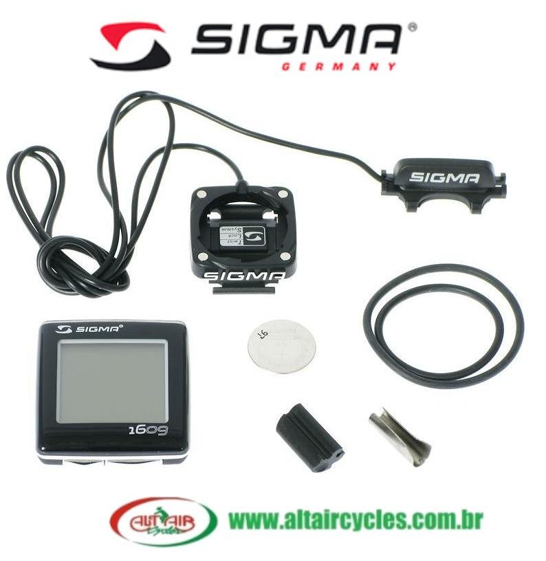 Ciclocomputador Sigma BC 1609