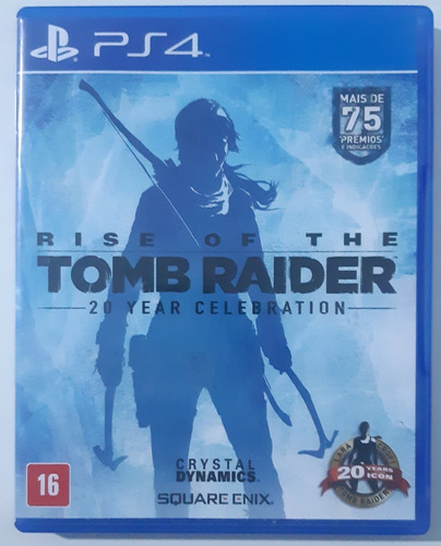 Rise Of The Tomb Raider - Ps4 - Midia Física Original