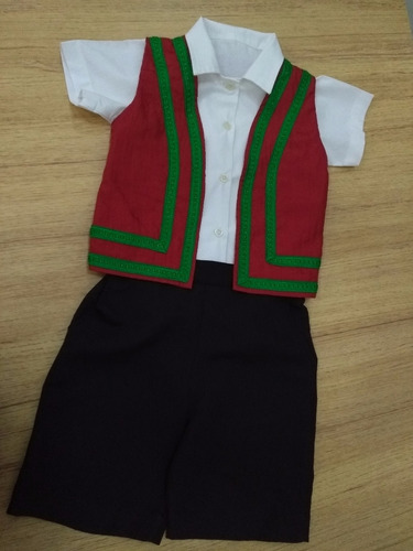 Fantasia Infantil Menino Italiano Calça - Confecção Própria