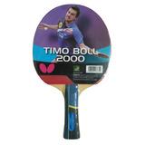 Butterfly Raquete Tenis Mesa Jogador Timo Boll 2000 Pan Asia