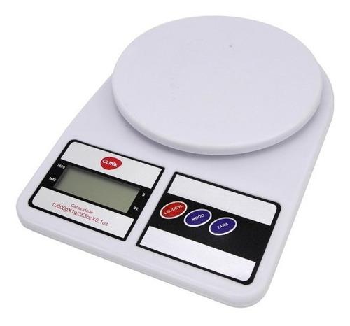 Balança Digital Cozinha Até 10 Kg Alta Precisão Nutrição Original
