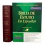 Bíblia Do Expositor De Estudo Versiculo Por Versiculo Vinho