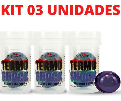 Kit Bolinha Termo Shock Hot Ball 02 Unidades Cada Hotflowers Original