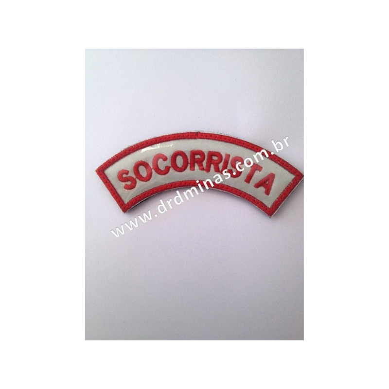 Patch / Distintivo Bordado Socorrista - III