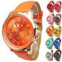 Relógio Genebra Feminino Fashion Lindo E Barato !
