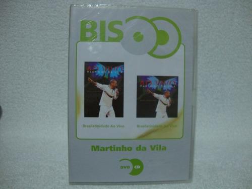 Dvd + Cd Martinho Da Vila- Brasilatinidade Ao Vivo- Lacrado Original