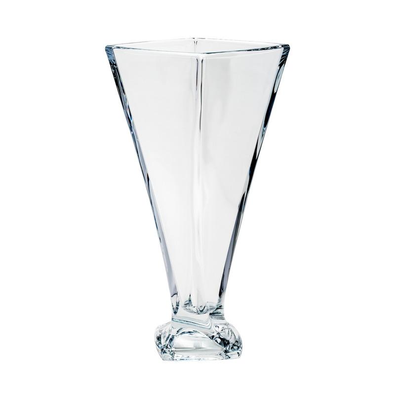 Vaso 28Cm Quadro Cristal - Bohemia 3105641