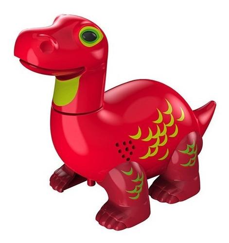 Digidinos Brotossauro Vermelho Apollo Dtc 3681 Original