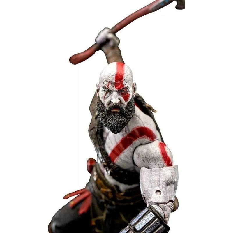 Boneco Kratos Scale Action Figure - 18 cm God Of War - Neca