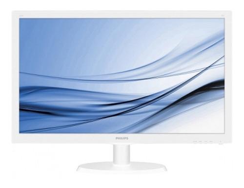 Monitor 21 5 Led Philips Branco Hdmi vga fhd   223v5lhsw Original