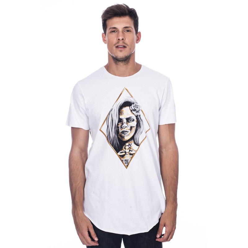 Camiseta Long Island Gold Branca