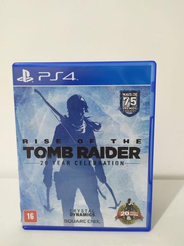 Jogo Rise Of The Tomb Raider  Ps4 Mídia Física 0053 Original