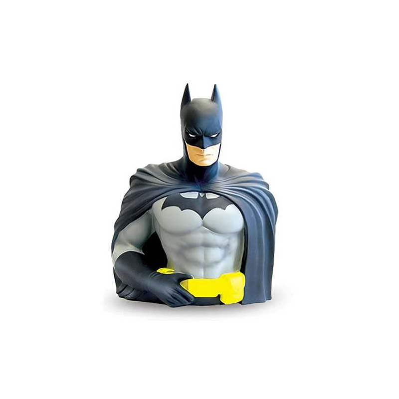 Busto Cofre Batman - Bust Bank - DC - Monogram