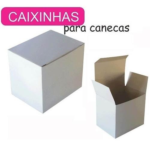 Caixinhas P canecas De Porcelana 325ml   Pct C 200 Caixinhas Original