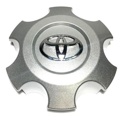 Calota Centro Roda Toyota Hilux Srv Aro 17 2016 17 18 Prata Original