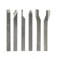 Conjunto de 6 Ferros de Tornear Feitos em HSS Cobalto 24524 - Proxxon