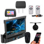 Dvd Pósitron Retratil Bluetooth Tv Digital Encosto camera